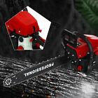 "58cc Chainsaw 20"" Bar Gasoline Powered Chain Saw Engine 2Cycle Wood Cutting Tool"