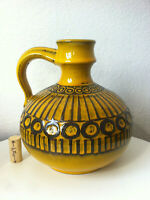 Ceramano Sunset Vase Heuckeroth 60s 70er pop pottery Fat Lava 60er 70s pop  ära
