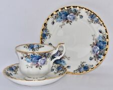 Pretty Royal Albert MOONLIGHT ROSE Trio (VGC) - Multi Avail - Old Country Roses