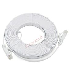 15M 49ft Cat 6 Flat RJ45 Ethernet Network Internet Lan DSL Router Xbox Cable UTP