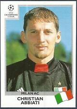 PANINI UEFA CHAMPIONS LEAGUE 1999-00- #291-AC MILAN-CHRISTIAN ABBIATI