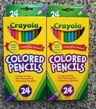 Crayola 2 pack Pencils 48 in all brand new UPC # 071662040246 nontoxic!!
