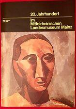 Ausstellungsplakat Pablo Picasso Kopf, 1908 Mittelrheinisches Landesmuseum Mainz