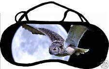 Masque de sommeil cache yeux anti lumière fatigue chouette personnalisableREF 43