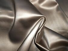 """ONE new remnant faux LEATHER FABRIC VINYL upholstery antique bronze 45"""" X 60"""" ++"""