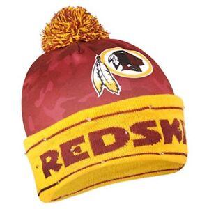 Washington Redskins Battery Powered Light Up Beanie Knit Hat
