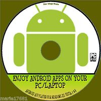 USE MANY ANDROID APP'S ON WINDOWS PC/LAPTOP SUPERB ANDROID APP EMULATOR CD NEW