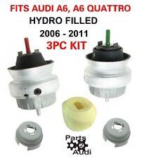 ENGINE MOTOR MOUNT MOUNTS; SET, V6 3.0 3.2 L For Audi A6 / A6 Quattro
