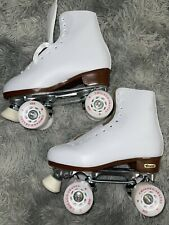 CHICAGO Skates Deluxe Leather Lined Rink Skate Ladies size 8