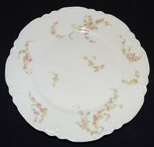 "Haviland Limoges France Luncheon Plate 8 1/2"" Norma Schleiger #233"