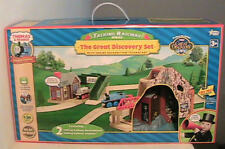 NEW Thomas & Friends Wooden Wood Railway Great Discovery Train Engine Rail Set