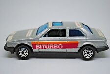 Rare HotWheels / Bburago 1:43 MASERATI BITURBO Car in Silver Made in Italy