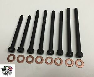 Improved (cap head) oil pump bolt set with washers. XPAG XPEG MG TD, TF & YB