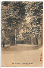 The Panteles / Pantiles PPC, Prewar Sepia View with Bristol Postmark by Boots