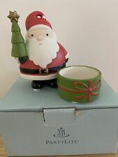 Party Lite - Jolly Santa Tealight Holder - # P90403 - New