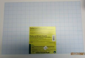 DRITZ QUILTING**GRIDDED TEMPLATE PLASTIC. LOT OF 2
