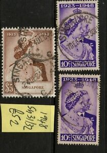 Singapore 1948 set - cat £52