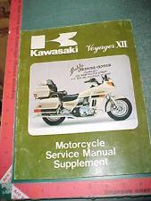 1987 KAWASAKI ZG1200-B VOYAGER XII ORIGINAL MOTORCYCLE SERVICE MANUAL SUPPLEMENT
