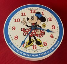 Phinney Walker Walt Disney Productions Minnie Mouse Wall Clock Made In Germany