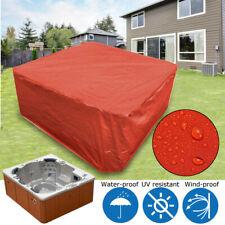 Large Hot Tub Spa Cover Dust Waterproof Protect Bag Cap Guard Garden Swim  ❤ +