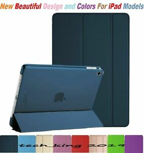 """Slim Smart Pu Leather Stand Case Cover For Apple iPad 5th Generation 9.7"""" 2017"""