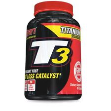 San Nutrition T3 Non-Stimulant Fat Burner Weight Loss - 90 caps Thyroid Hormone