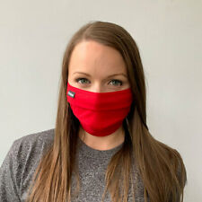 Tultex Solid Colors Pleated 100% Us Cotton Face Mask - Washable & Reusable
