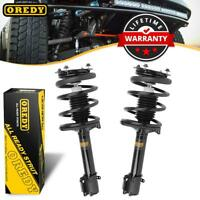 Rear 2x Complete Struts Coil Springs Fits For Dodge Neon For Plymouth Neon 95-99