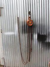 Harrington Chain Hoist 1 ton 10' lift Cf010-10