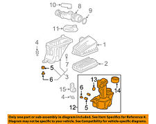 HONDA OEM 2005 Pilot Air Cleaner Intake-Resonator Duct Tube Hose 17230PVJA00