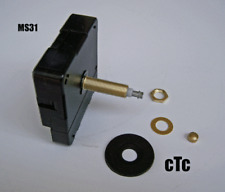 Extra Long Shaft -  High Torque Quartex Clock Movement with 9 inch minute hand