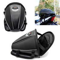 Sport Luggage Motorcycle Rear Seat Rider Bag Tail Helmet BackPack Motorbike New