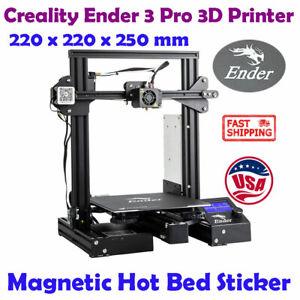 Creality Ender 3 Pro 3D Printer Magnetic Hot Bed Sticker 220 x220 x250 mm DC 24V