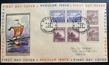1943 Manila Philippines Japan Occupation First Day Censored Cover #N20-22