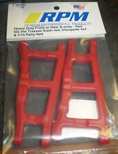 RPM Traxxas Slash 4X4, Stampede 4X4 & Rally Front Or Rear A-Arms-Red 80709 NEW