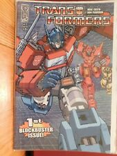 TRANSFORMERS, 2009, ISSUE #1 COVER A. 8.5 VF+, 1st BLOCKBUSTER ISSUE. MIKE COSTA