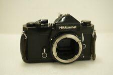 Nikkormat FT3 Black Body 35mm SLR Film Camera Made in Japan *BODY ONLY*
