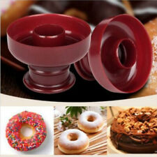 2 Pcs Doughnut Maker Cutter Mold Dessert Cookie Donut Cake Mould Baking Tool