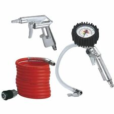 KIT ACCESSORI PER COMPRESSORE EINHELL SET MANOMETRO PISTOLA TUBO 4132741 mshop