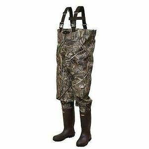 Frogg Toggs Bogg Togg 2-ply Poly/Rubber Bootfoot Chest Wader, Cleated