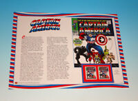 Captain America #100 Usps First Day Of Issue Stamp Proof Panel Marvel FDC 2007