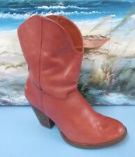 Franco Fortini Womens size 8 M Cowboy Western Boots McKinley Ankle Boots