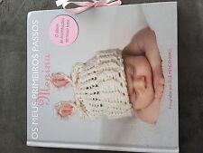 Os Meus Primeiros Passos Menina  Album De Recordacoes Do Nosso Bebe Portuguese