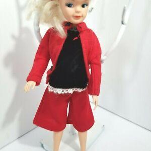 JAPAN Vintage Clothing Lot Wide Leg Capris Top Skirt 4 ITEMS SINDY Barbie Friend