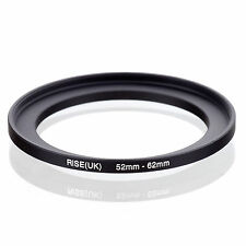52mm to 62mm 52-62 52-62mm52mm-62mm Stepping Step Up Filter Ring Adapter