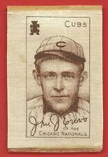 1910 - 11   JOHNNY EVERS    SILK    S74   WHITE   !!