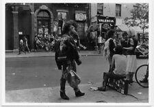 St. Mark's Place New York 1984 Street Photo by Kathy A. Yates Art Postcard