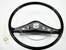 "New 1958-1959 1960 antique car small 15"" Chevrolet steering wheel Fast Ship"