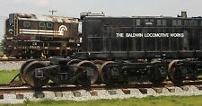 Custom Train Checkbook Covers:  # 12 The Baldwin Locomotive Works lionel mth NEW