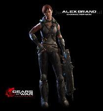 Gears of War Judgment Alex Brand Skin DLC Pre-Order Code - Microsoft Xbox 360